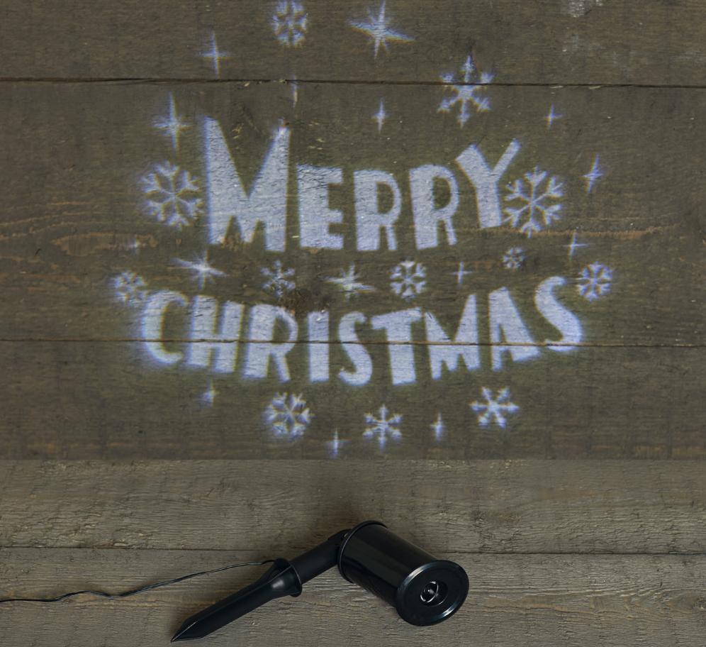 Projektor Merry Christmas Image