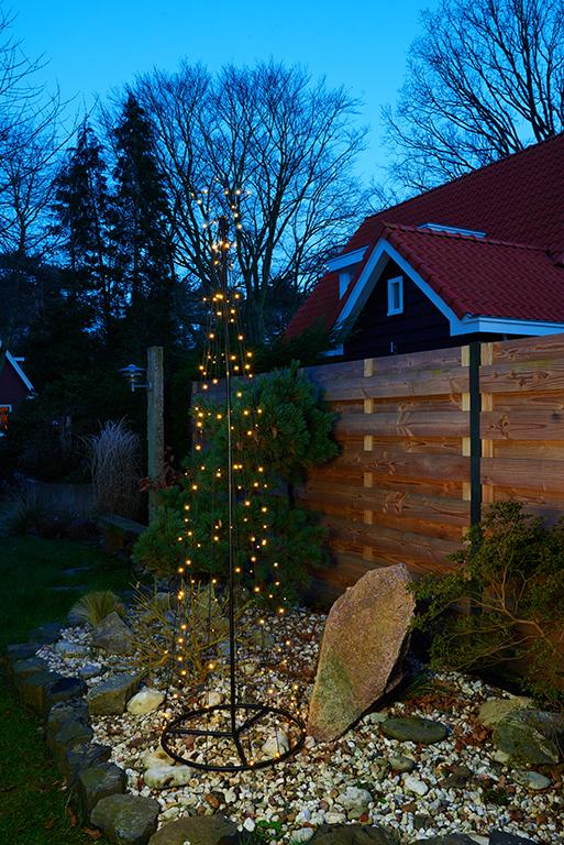 LED Baum warmweiß 140 LED, 240 cm Image