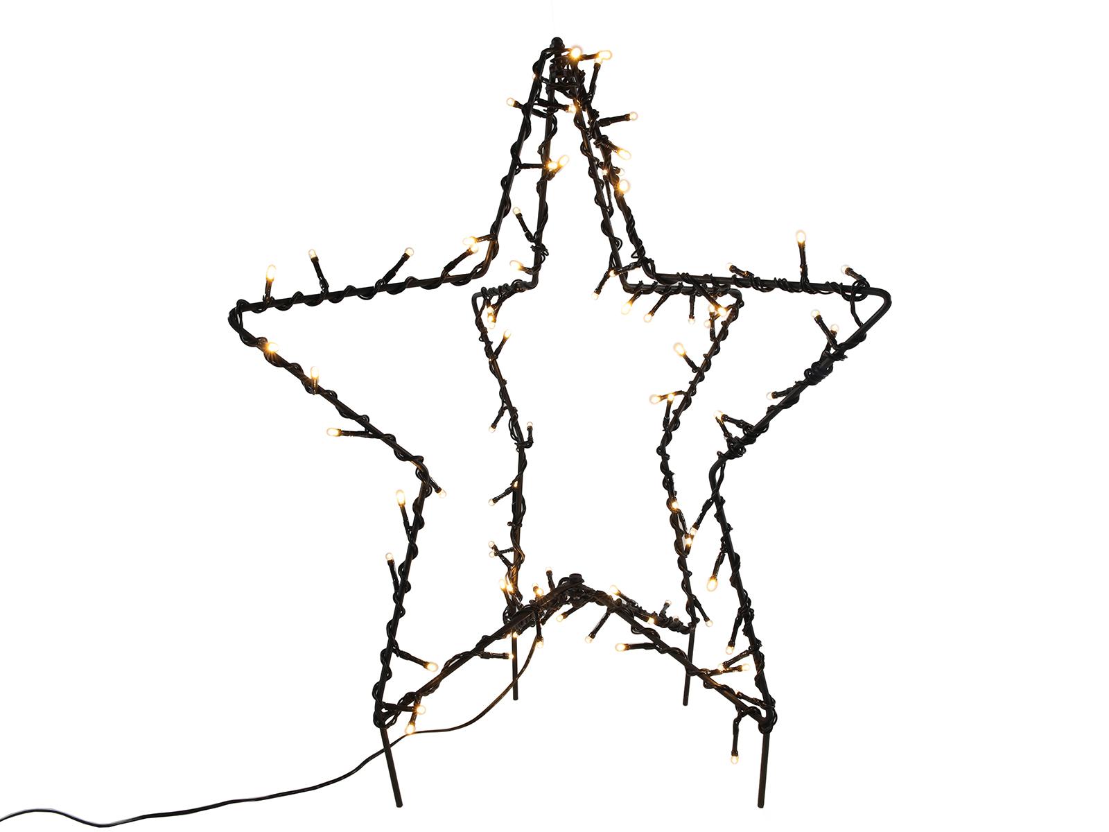 Stern 3D warmweiß 50 cm Image