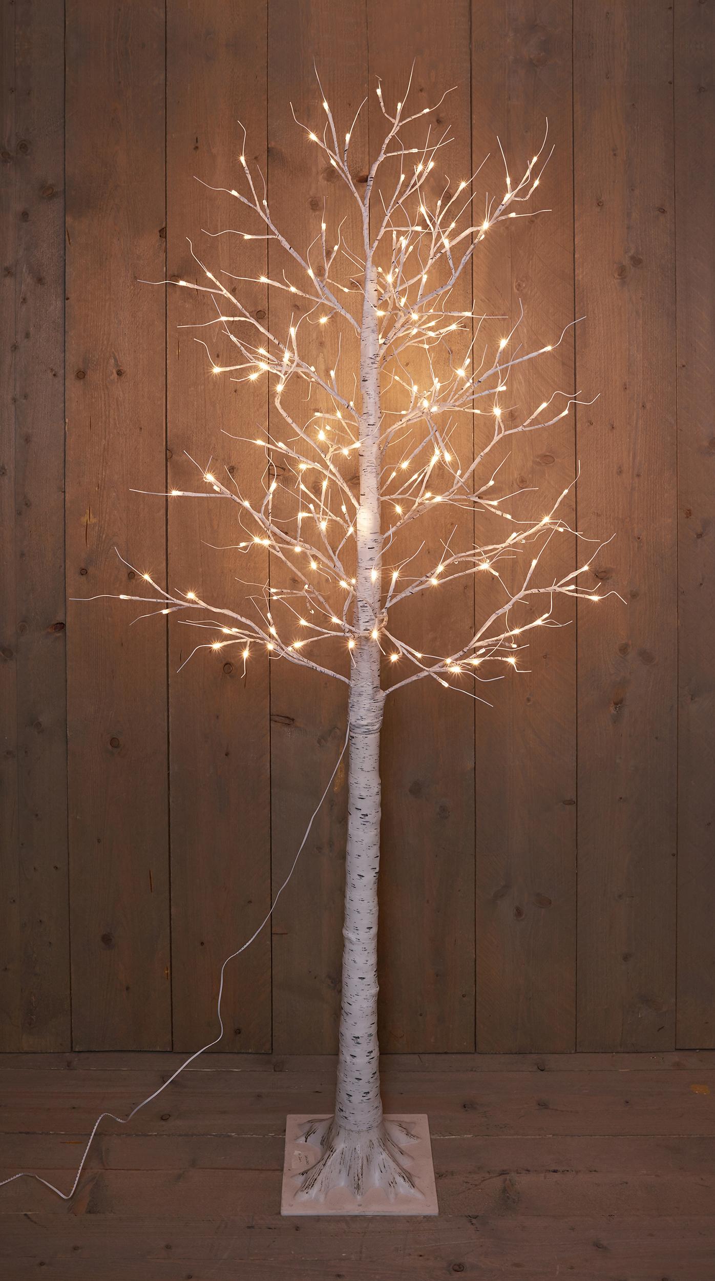 LED Birke warmweiß 200 cm Image