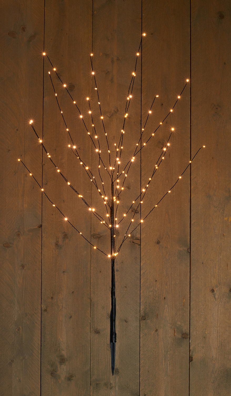 LED Baum schwarz warmweiß 100 cm Image
