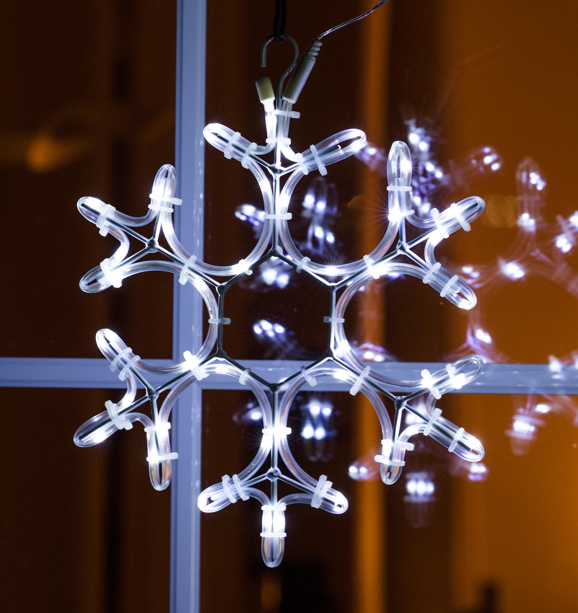 LED Lichterschlauch Schneeflocke Image