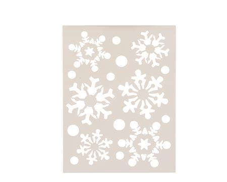 Schablone Schneeflocke Image