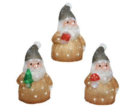 LED Acryl Santa Image