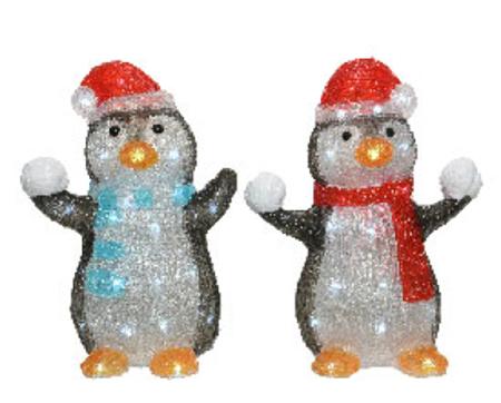 LED Acryl Pinguine Image
