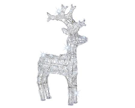 LED Acryl Rentier kaltweiß 60 cm Image