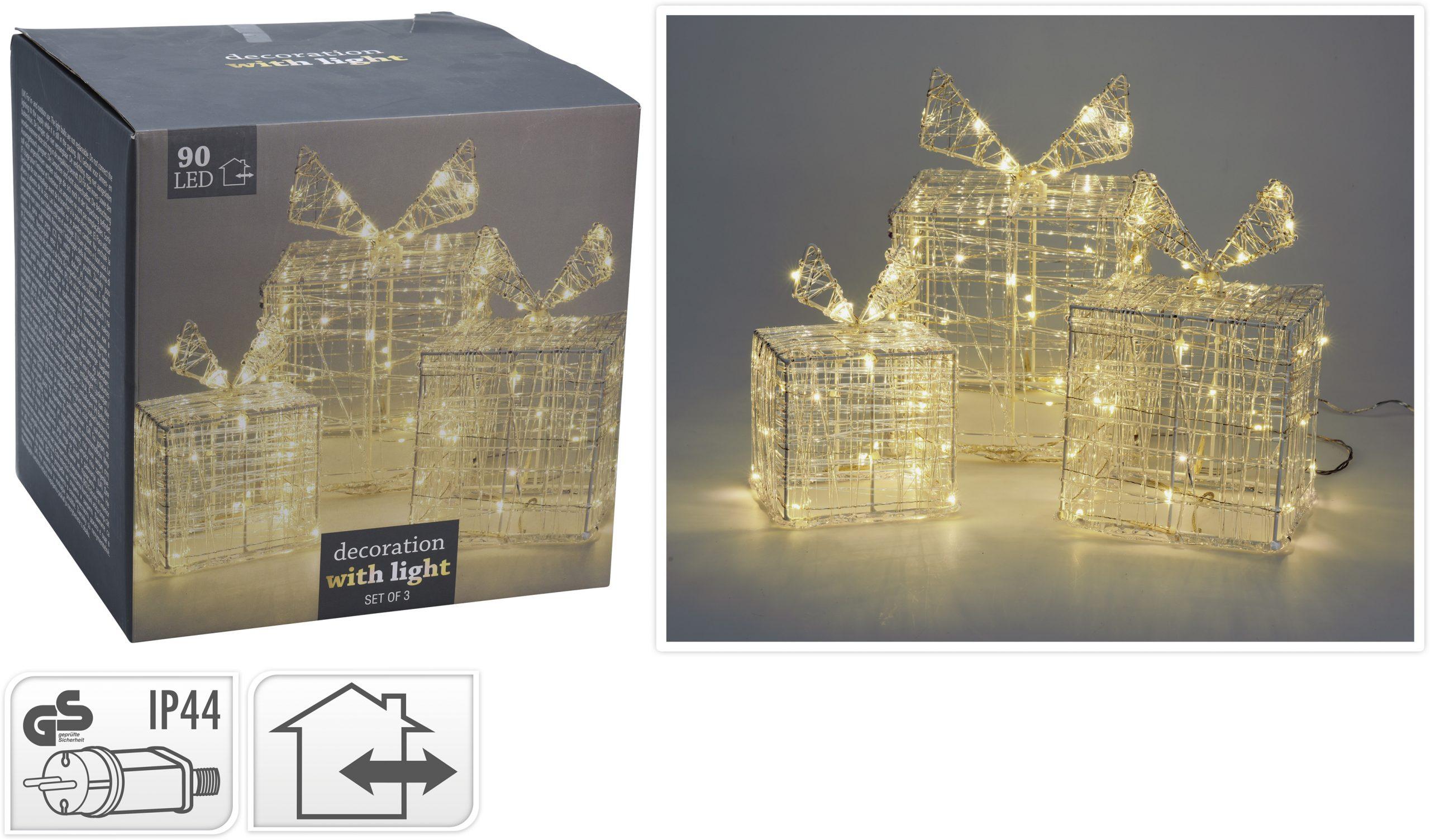 Geschenkset 90 LED, 12/15/20 cm Image
