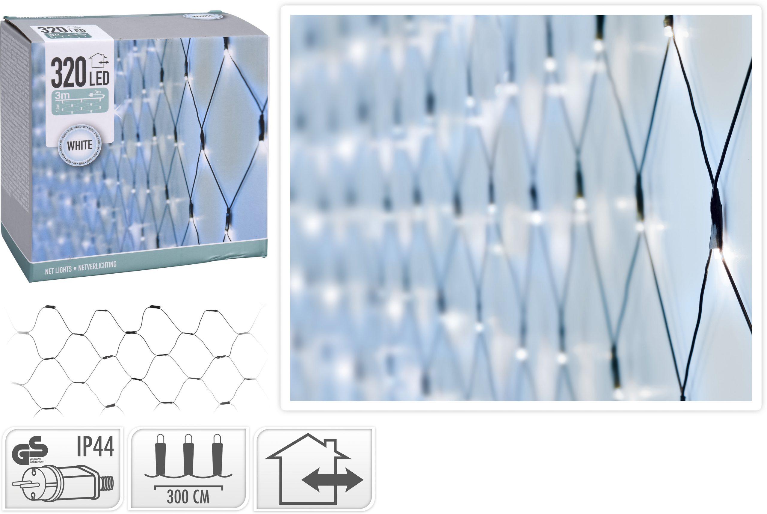 Lichternetz kaltweiß 320 LED Image