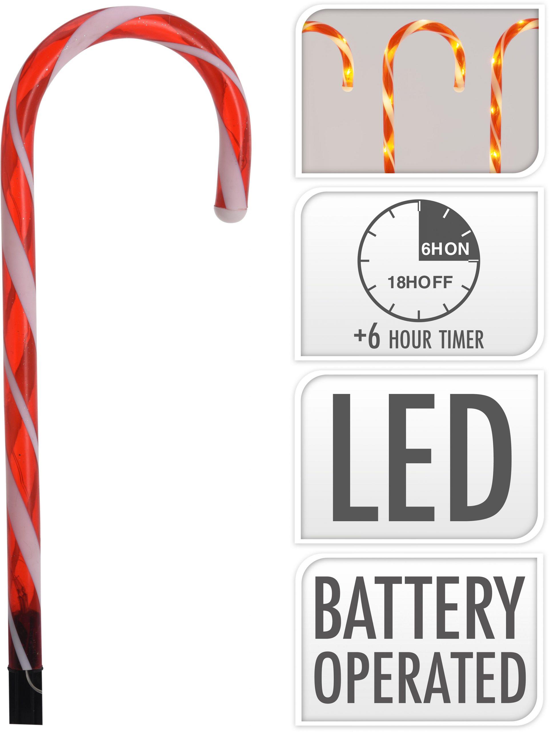 Zuckerstangen 56 LED 8er Set Image