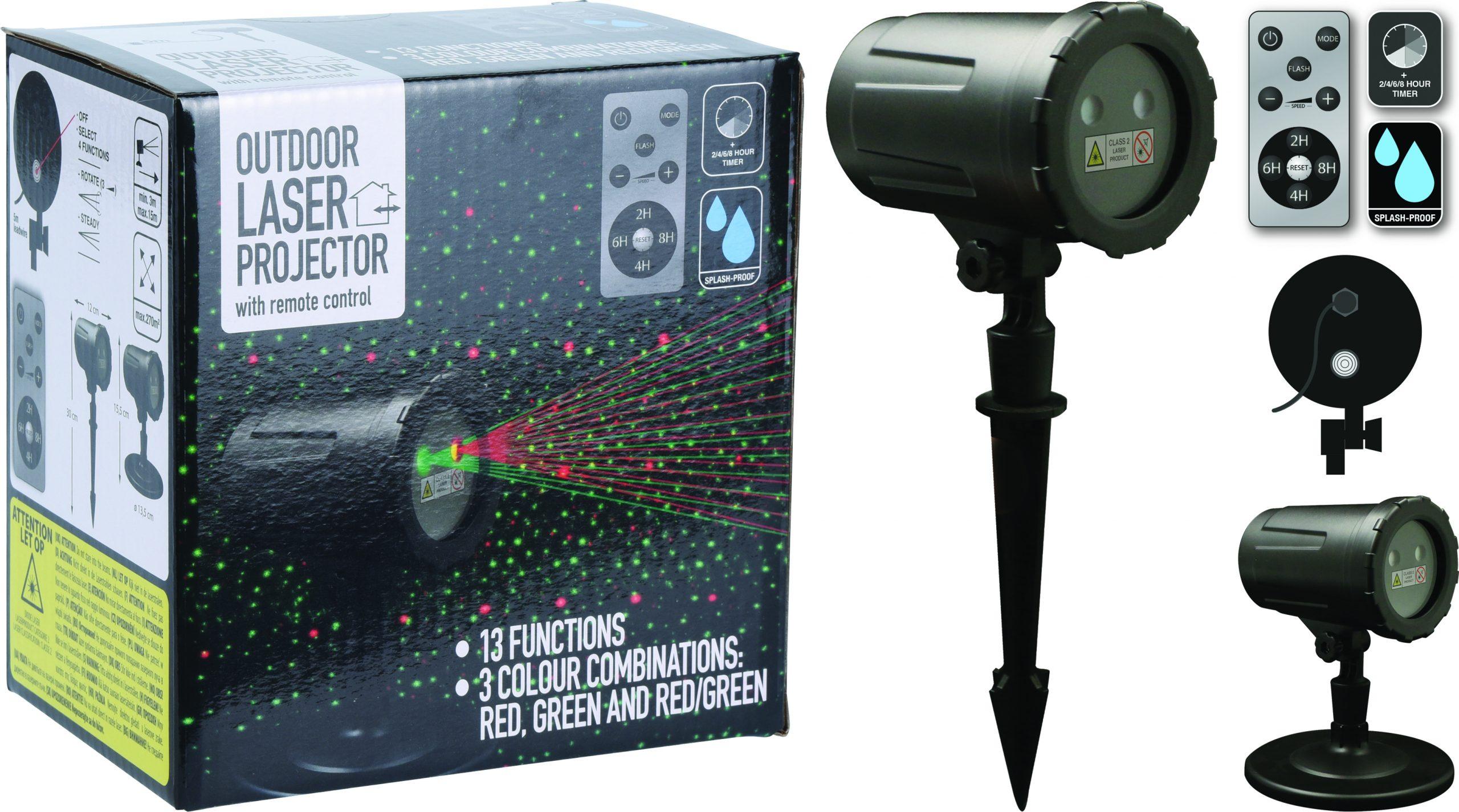 Laser 12 Funktionen 2 farbig Image