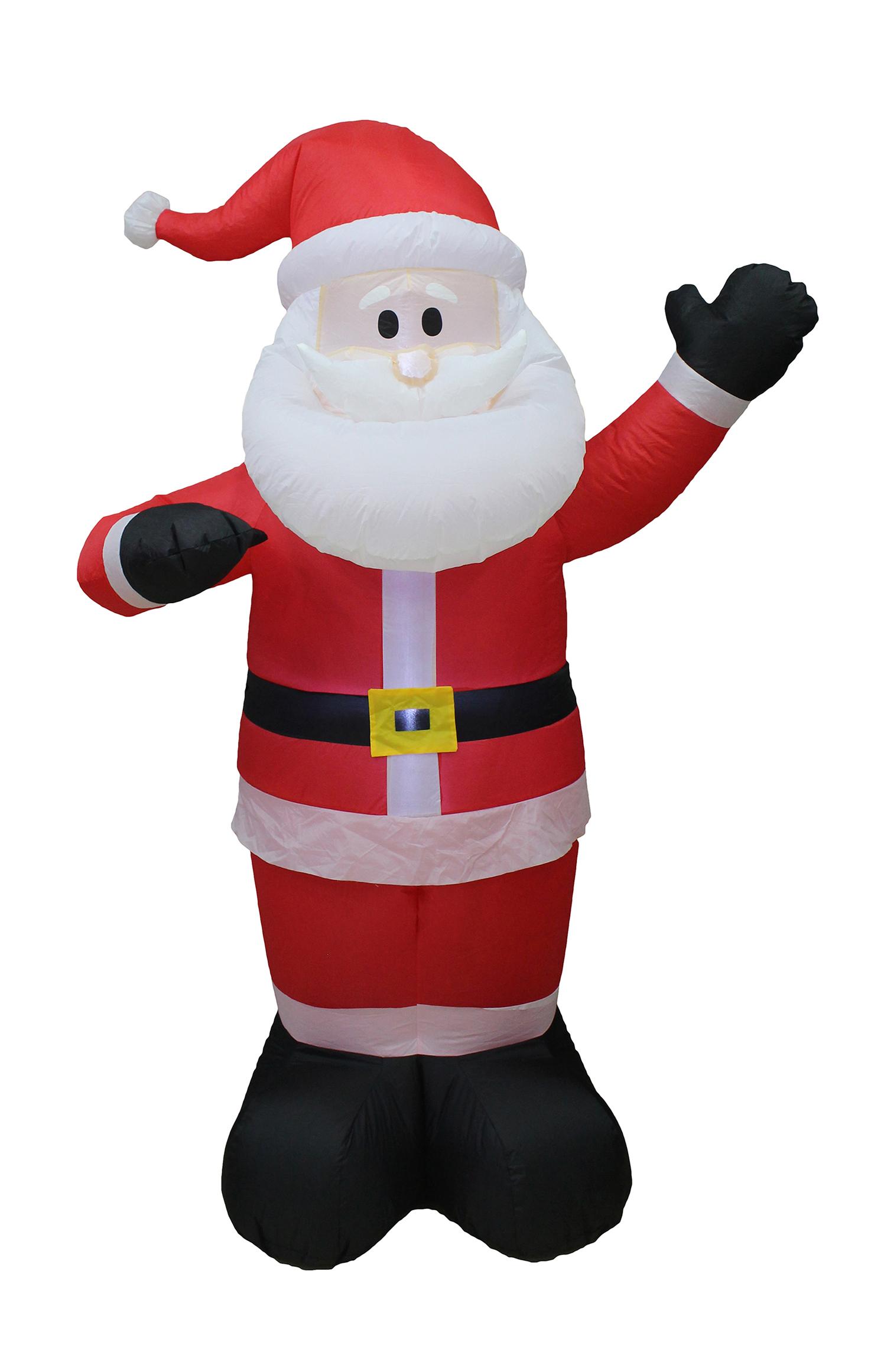 Weihnachtsmann 180 cm aufblasbar Image